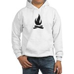 Bonfire Night Hooded Sweatshirt -Front+Back Design
