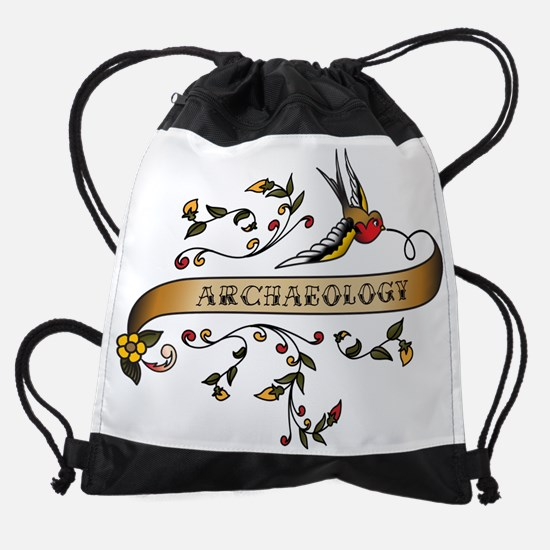 wg018_Archaeology.png Drawstring Bag