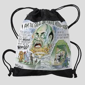debt_wizard Drawstring Bag