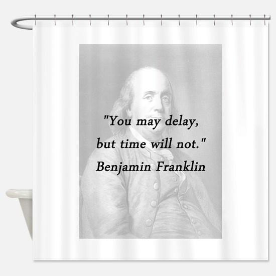 Franklin - Delay Shower Curtain