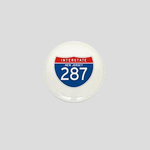 Interstate 287 - NJ Mini Button