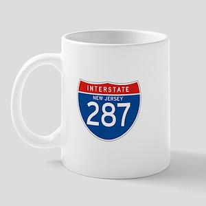 Interstate 287 - NJ Mug