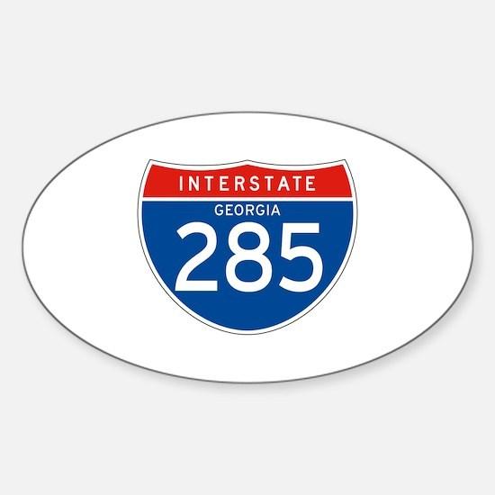 Interstate 285 - GA Oval Decal