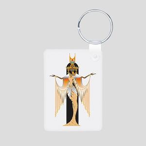 Isis Aluminum Photo Keychain
