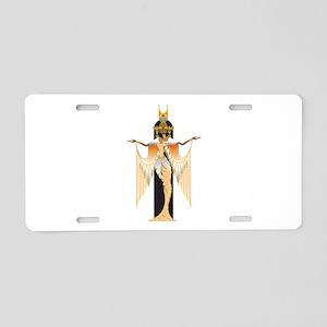 Isis Aluminum License Plate