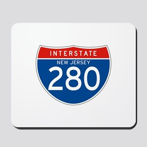 Interstate 280 - NJ Mousepad