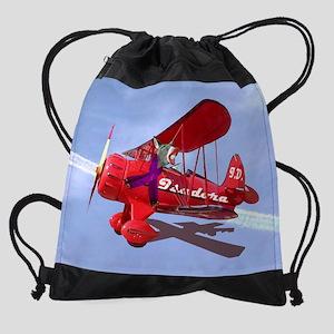 ISADORA DONKEY CALENDAR PRINT Drawstring Bag
