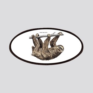 Three-Toed Sloth Patches