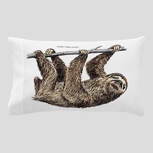 Three-Toed Sloth Pillow Case