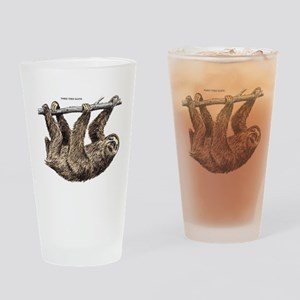 Three-Toed Sloth Drinking Glass