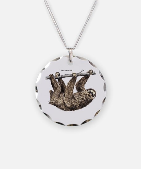 Three-Toed Sloth Necklace
