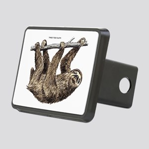 Three-Toed Sloth Rectangular Hitch Cover