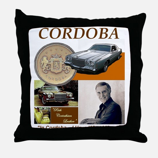 In Cordoba I have What I Need Throw Pillow