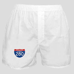 Interstate 280 - CA Boxer Shorts