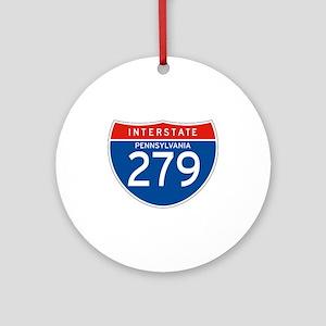 Interstate 279 - PA Ornament (Round)