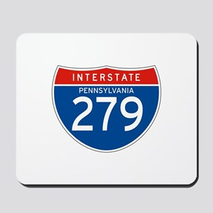 Interstate 279 - PA Mousepad