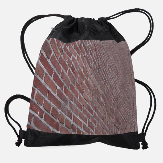 brick2.jpg Drawstring Bag
