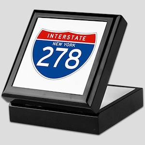 Interstate 278 - NY Keepsake Box