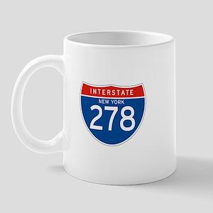 Interstate 278 - NY Mug