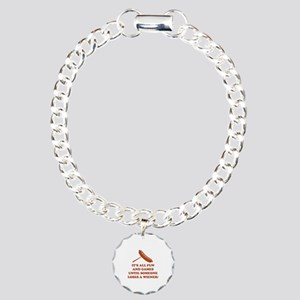 It's All Fun And Games Charm Bracelet, One Charm