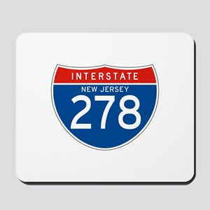 Interstate 278 - NJ Mousepad