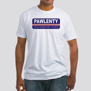 Support Tim Pawlenty Fitted T-Shirt