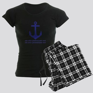 Nautical Anchor Pajamas