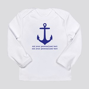 Nautical Anchor Long Sleeve T-Shirt