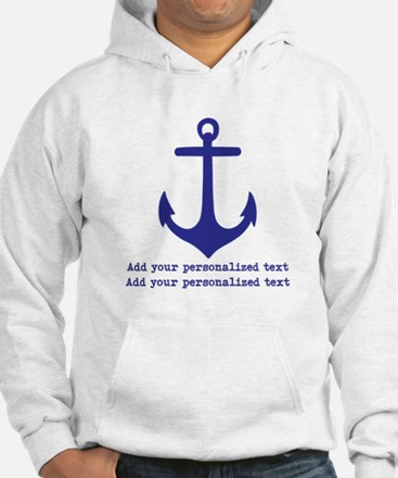 Nautical Anchor Sweatshirt