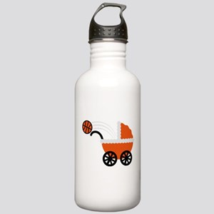 born_to_play_basketball Water Bottle