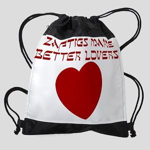JEWISH-ZAFTIG Drawstring Bag