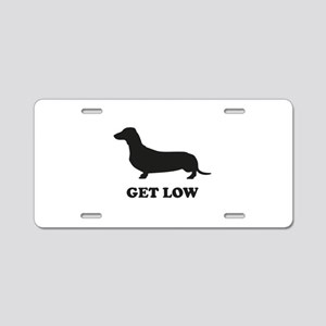 Get Low Aluminum License Plate