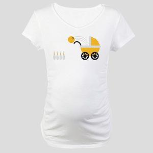 born_to_bowl Maternity T-Shirt