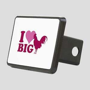 I Love Big Rectangular Hitch Cover