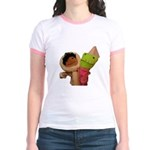 Frooper and Skimo Jr. Ringer T-Shirt