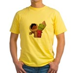 Frooper and Skimo Yellow T-Shirt