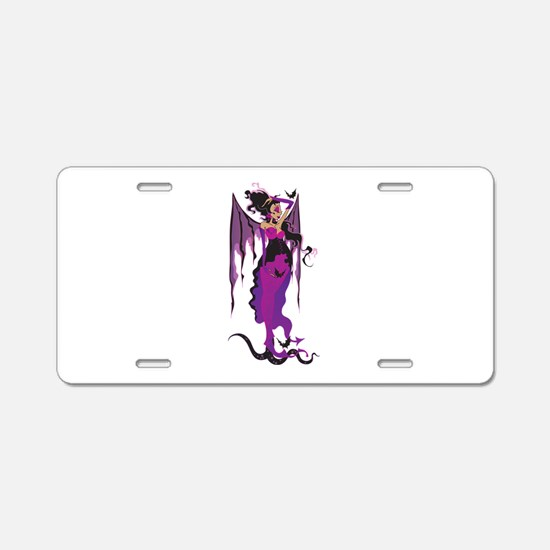Lilith Aluminum License Plate