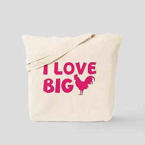 I Love Big Tote Bag