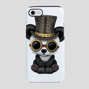 Cute Steampunk Baby Panda Bear Cub iPhone 7 Tough