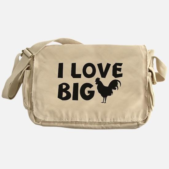 I Love Big Messenger Bag