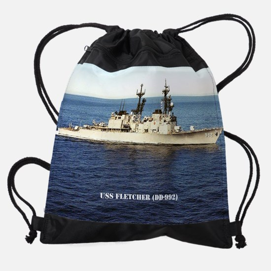 fletcher calendar.jpg Drawstring Bag