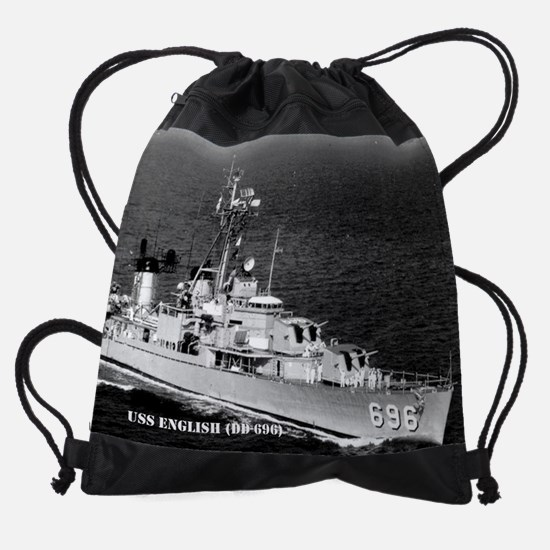 english calendar.jpg Drawstring Bag