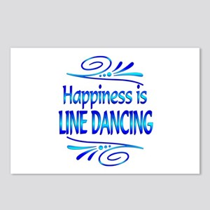 Happiness is Line Dancing Postcards (Package of 8)