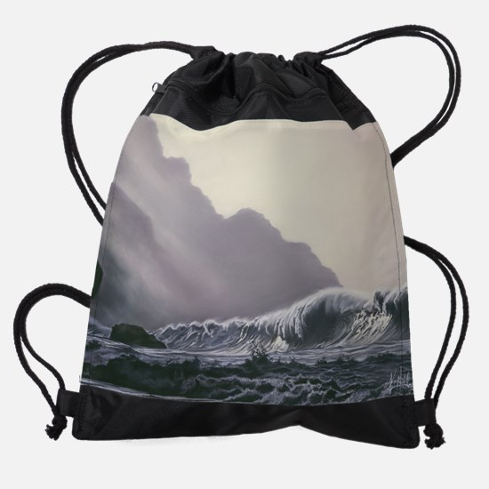 daybreak cal-prt.jpg Drawstring Bag
