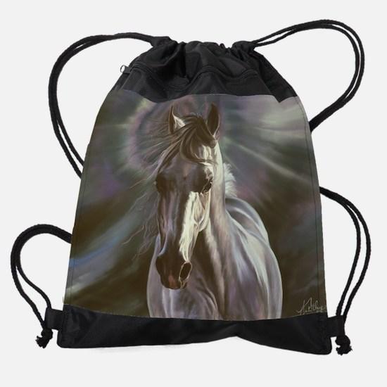 believe-cal.jpg Drawstring Bag