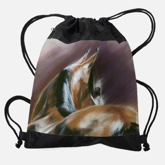 HINDSIGHT-CAL.jpg Drawstring Bag