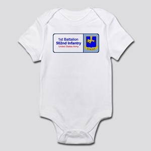 1st Battalion 502nd Infantry Infant Bodysuit