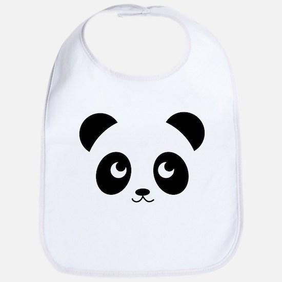 Panda Smile Cotton Baby Bib