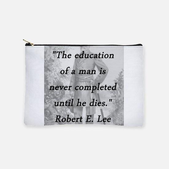 Robert E Lee - Education of a Man Makeup Pouch