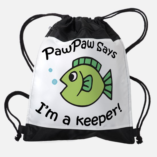 keeperpawpaw.png Drawstring Bag